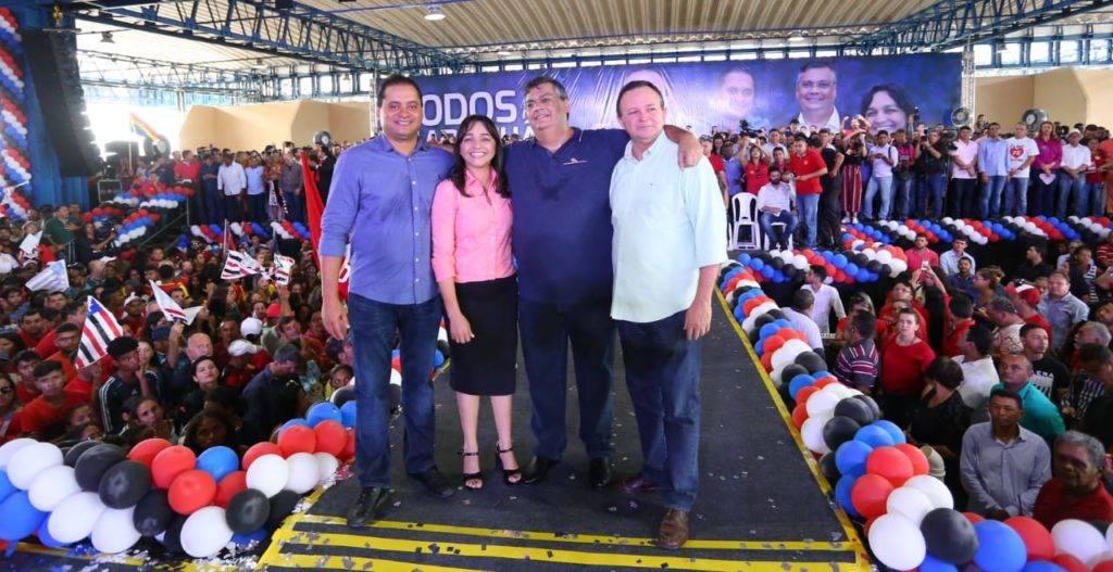 Photo of Candidatura de Flávio Dino à reeleição é oficializada em São Luís durante convenção