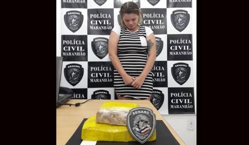 Photo of Mulher é presa transportando crack dentro de van, em Timon (MA)