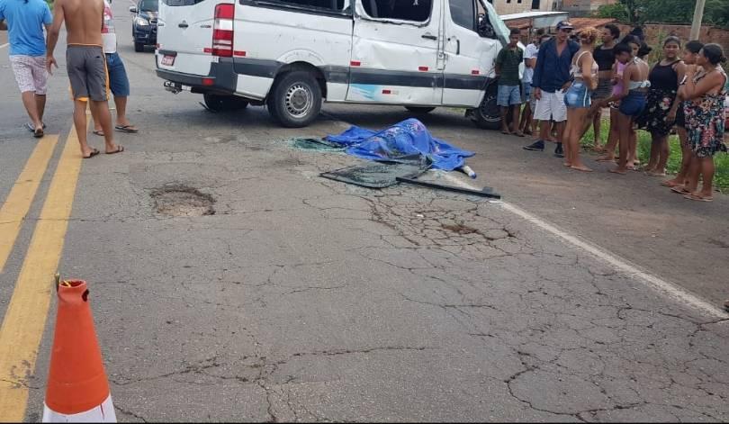 Photo of Grave acidente deixa uma pessoa morta na BR-135, em Bacabeira
