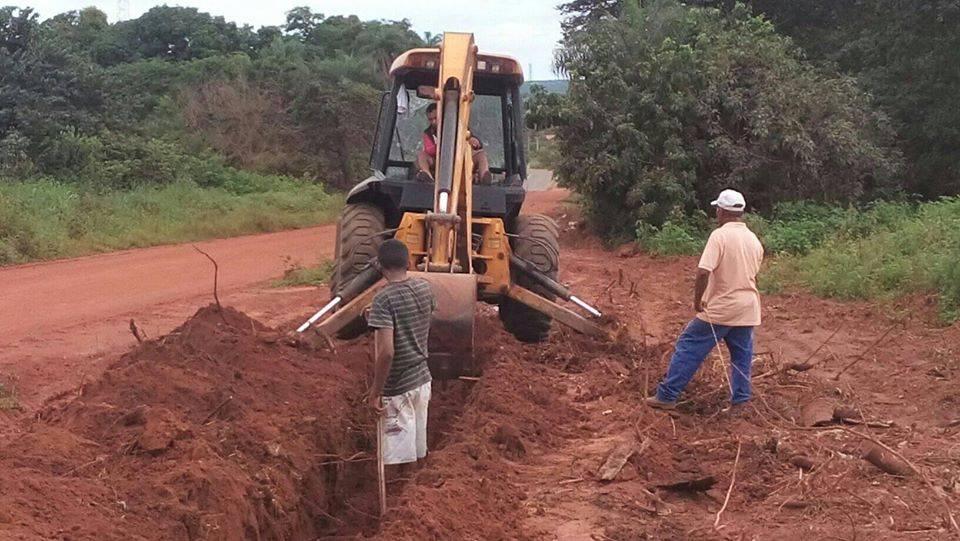 Photo of Obras do novo sistema de abastecimento de água de São Pedro dos Crentes seguem a todo vapor