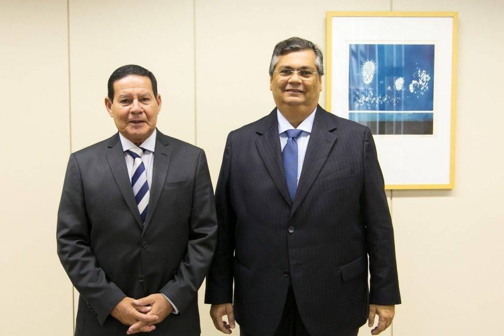Photo of Mourão recebe o Governador Flávio Dino em Brasília