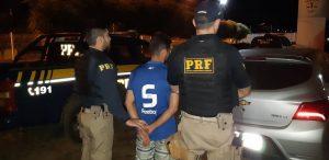 PRF apreende veículo roubado com placa clonada em Balsas (MA)