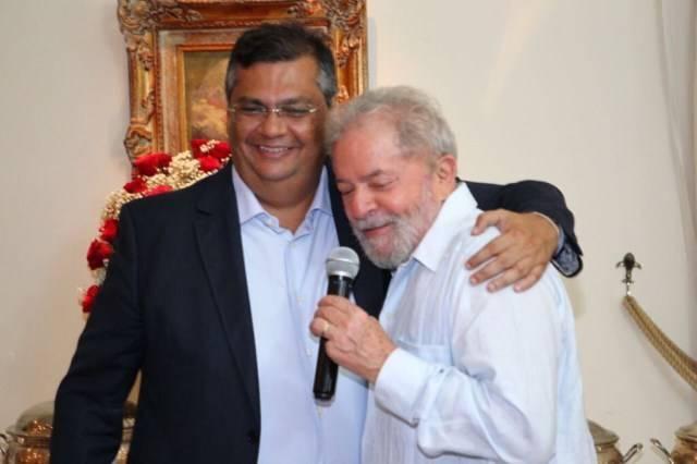 Photo of Em sua caminhada incansável rumo a presidência Flávio Dino visita Lula novamente na prisão