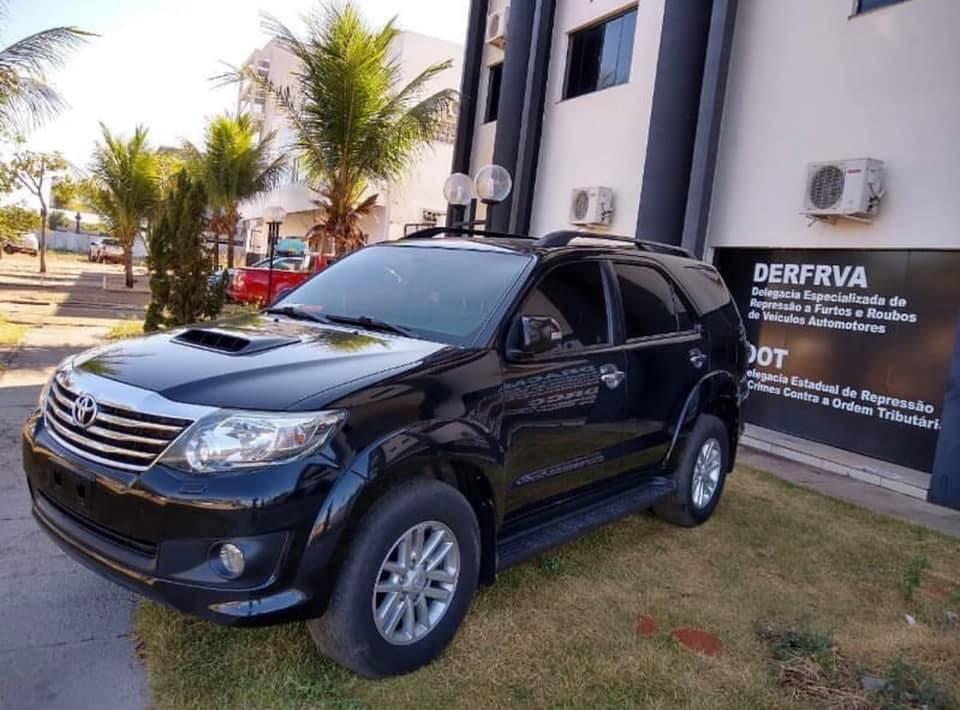 Photo of Carro de luxo roubado no MA é recuperado no Tocantins