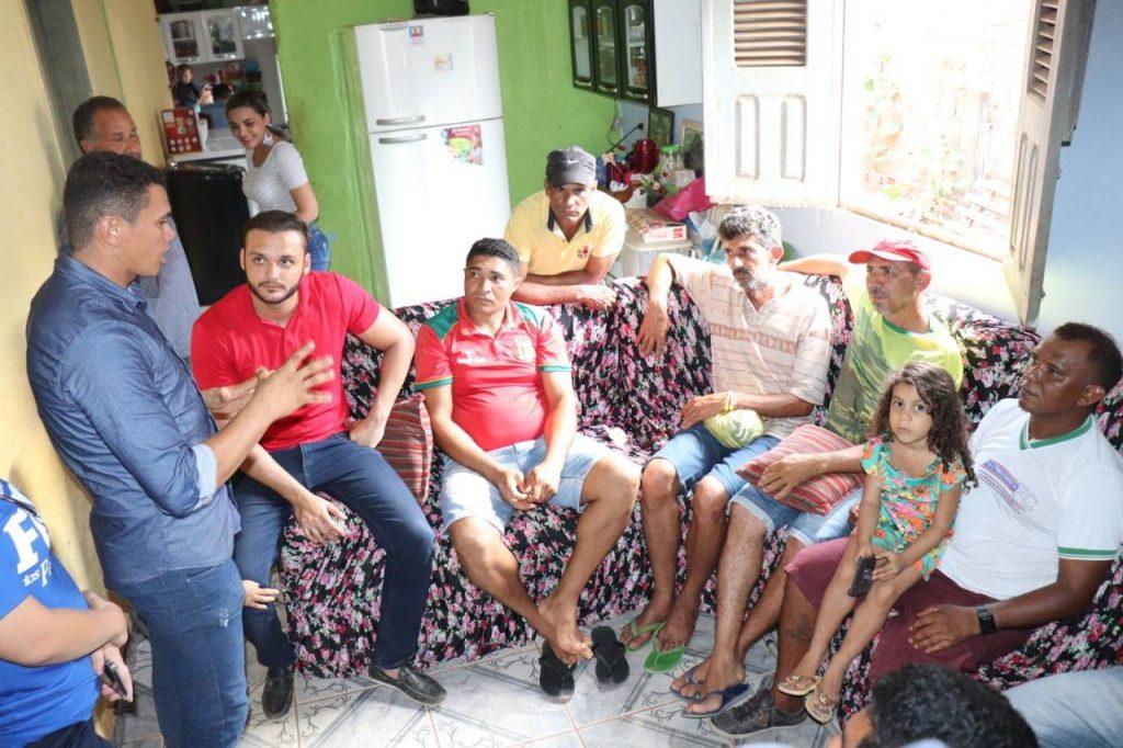 Photo of Deputado Felipe dos Pneus recebe demandas de povoados e acompanha obras em Governador Newton Belo e Buriticupu