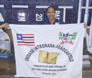 Aluna de Estreito é a primeira a conquistar medalha e participar das Paralimpíadas Escolares em SP