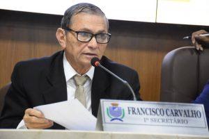 Leis de Chico Carvalho beneficiam população durante pandemia do coronavírus