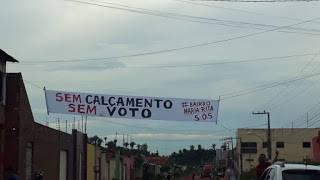 """Photo of """"Sem calçamento, sem voto"""" afirmam moradores em cidade no MA"""