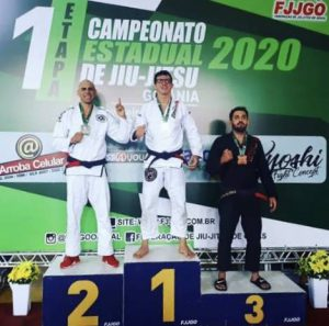 Estreitense é campeão em competição de Jiu-Jitsu em Goiânia (GO)