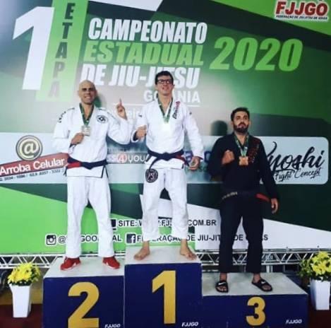 Photo of Estreitense é campeão em competição de Jiu-Jitsu em Goiânia (GO)
