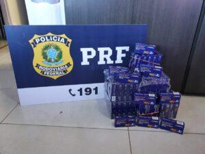 PRF apreende 3,6 mil comprimidos de hidroxicloroquina contrabandeada do Paraguai com destino ao MA