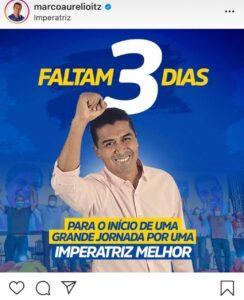 Marco Aurélio retira as cores do comunismo do PCdoB e vai usar azul em sua campanha