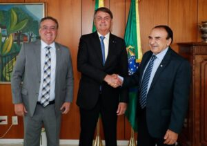 Ao lado de Sebastião Madeira, Roberto Rocha confirma visita de Bolsonaro ao MA para outubro