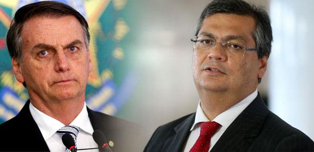 Bolsonaro afirma que cancelou visita ao Maranhão após Flávio Dino negar apoio da PM; Dino diz que é mentira