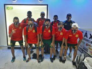 Equipe do Sampaio desembarca no Rio para a disputa do Campeonato Brasileiro