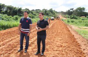Em apenas 20 dias, Rigo Teles já iniciou a recuperação de estradas vicinais, poços e revitalização de locais públicos