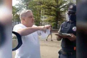 Gilmar Mendes suspende inquérito contra desembargador que humilhou guarda em Santos, SP
