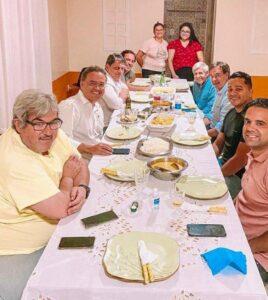 Prefeito do PCdoB em jantar com a 'cúpula' do Governo Bolsonaro em Imperatriz