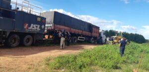 PRF realiza no Maranhão a maior apreensão de madeira ilegal do Brasil