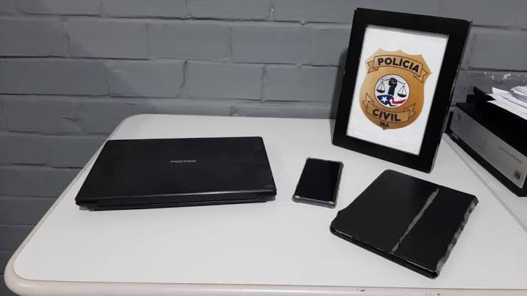 Operação contra pornografia infantil apreende equipamentos eletrônicos no MA