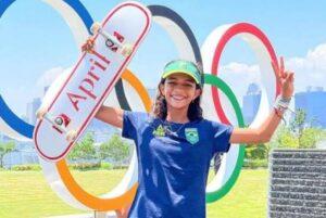 Skatista maranhense é a mais jovem representante do Brasil nos Jogos Olímpicos de Tóquio
